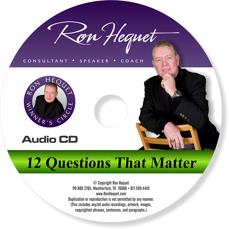 CD label -  12 Questions That Matter - NEW 2015 copy