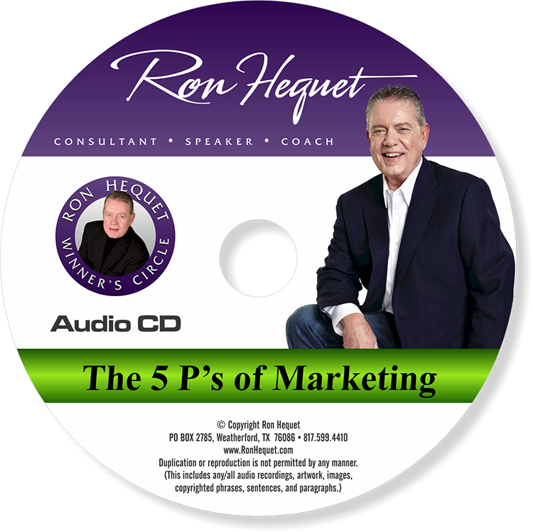 CD label -  5 P's of Marketing - NEW 2015 copy