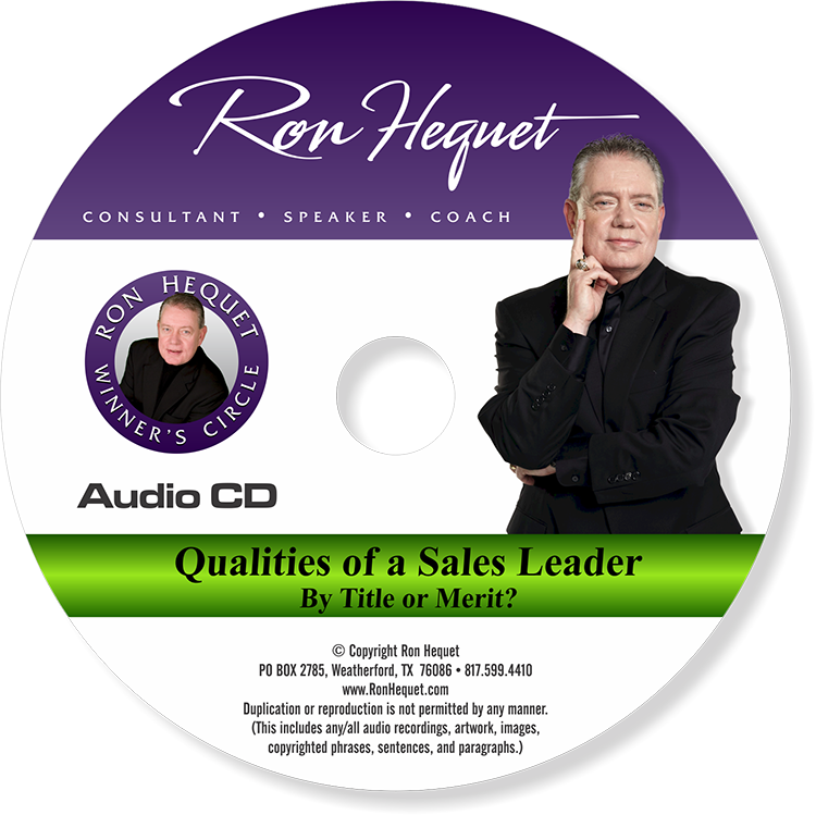 CD label -  Qualities of a Sales Leader - NEW 2015 copy