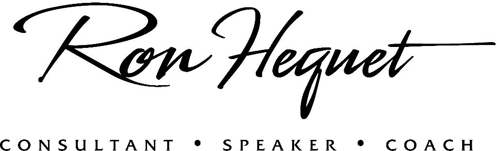 Ron Hequet Consultant Speaker Coach