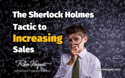 The Sherlock Holmes Tactic to Increasing Sales