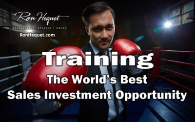 Training: The World's Best Sales Investment Opportunity