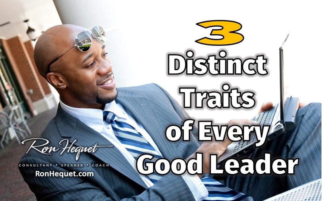 3 Distinct Traits of Every Good Leader